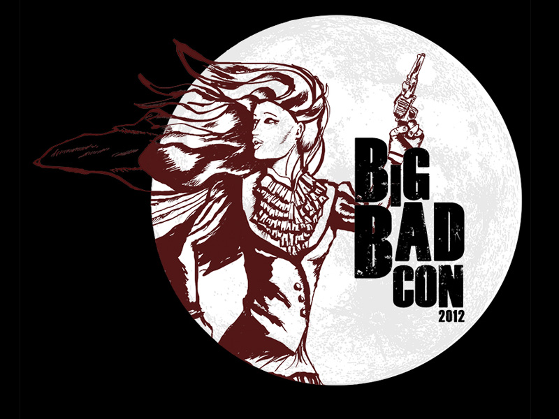 Big Bad Con t-shirt design