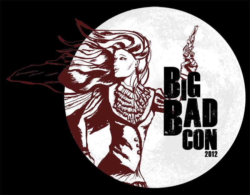 2012 official Big Bad Con t-shirt