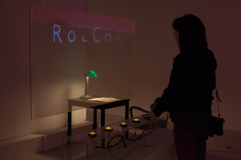 thesis exhibition glyph randomizer