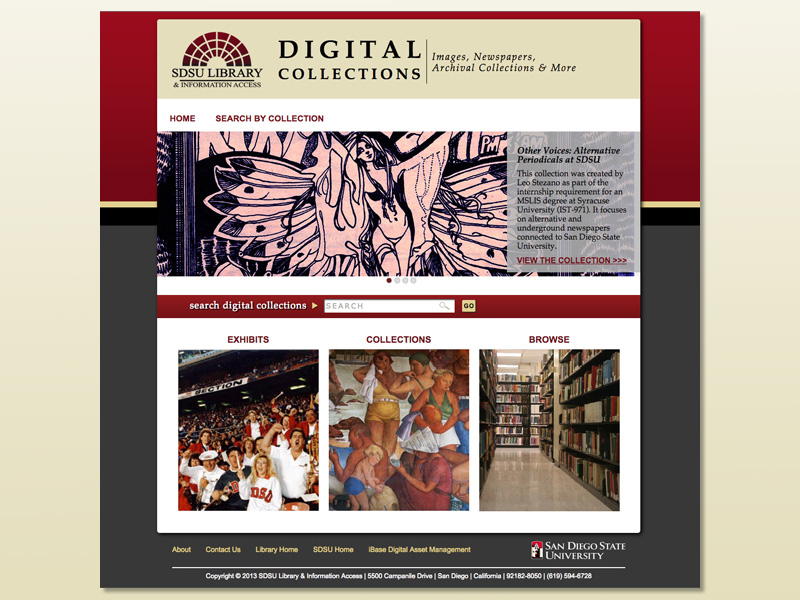ibase Digital Collections homepage